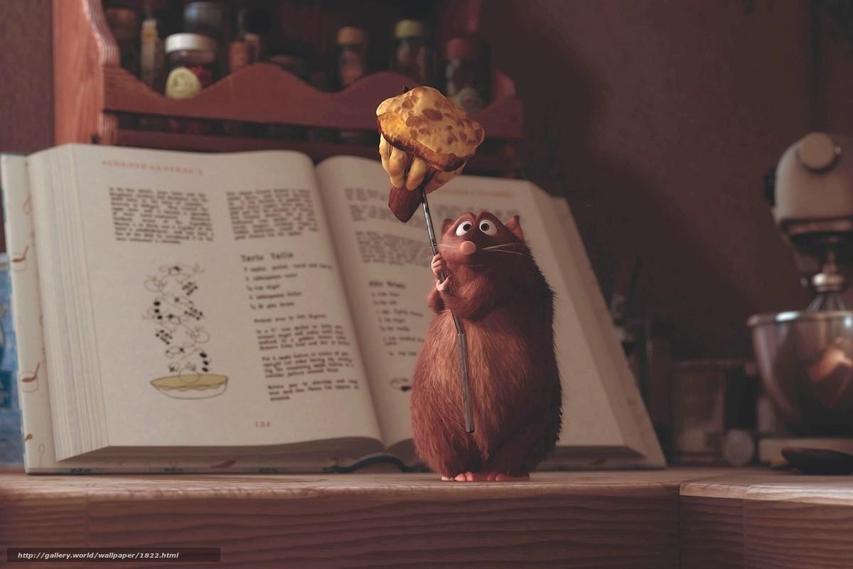 scaricare gli sfondi ratatouille,  mouse,  cartone animato Sfondi gratis per la risoluzione del desktop 1470x981 — immagine №1822