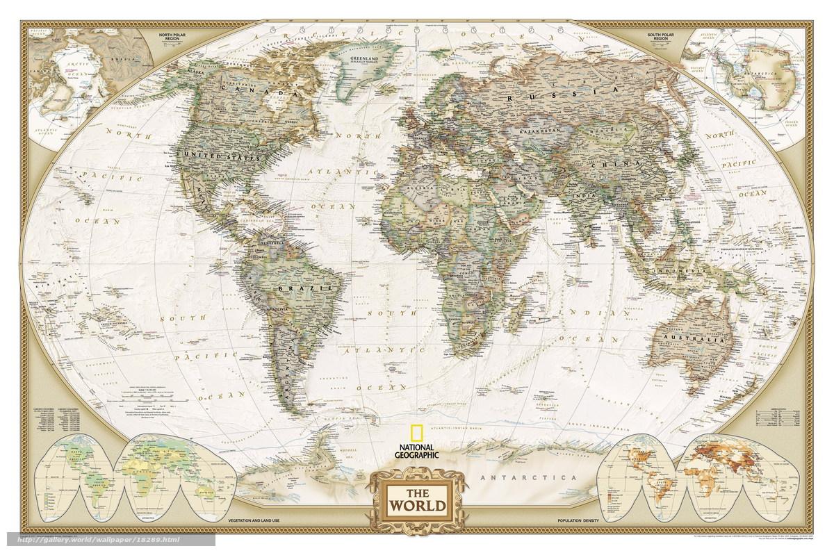 Скачать обои карта мира,  страны,  текстуры бесплатно для рабочего стола в разрешении 6000x3981 — картинка №18289