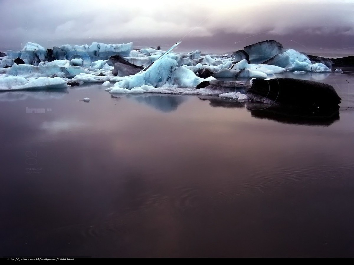 Скачать обои лед,  грязь,  вода бесплатно для рабочего стола в разрешении 1280x960 — картинка №1869