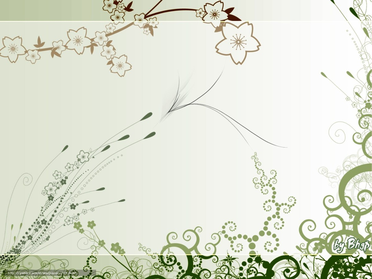 Download wallpaper Wallpaper,  curls,  stems,  design free desktop wallpaper in the resolution 1280x960 — picture №195