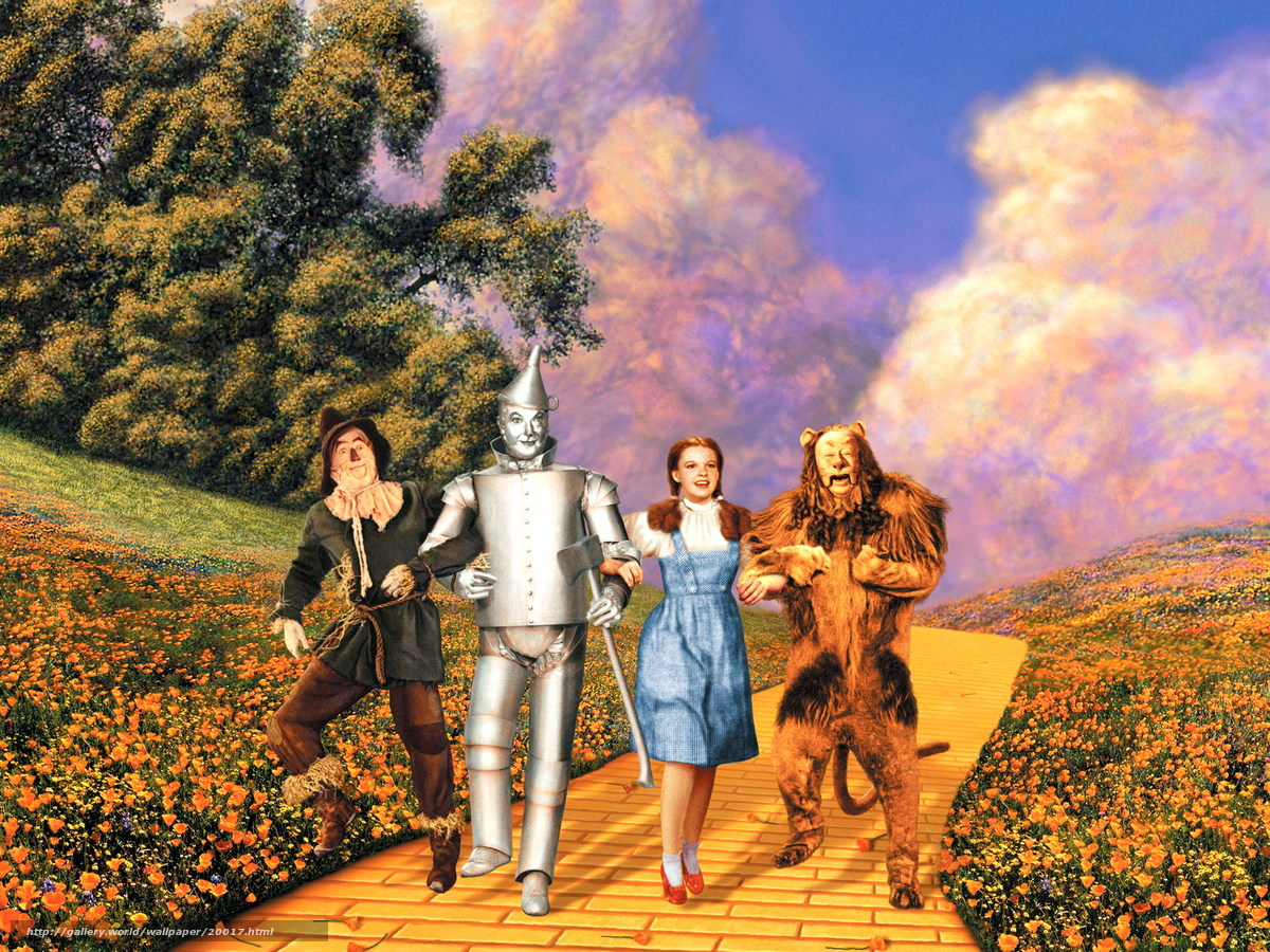 Download wallpaper Волшебник страны Оз,  The Wizard of Oz,  film,  movies free desktop wallpaper in the resolution 1600x1200 — picture №20017