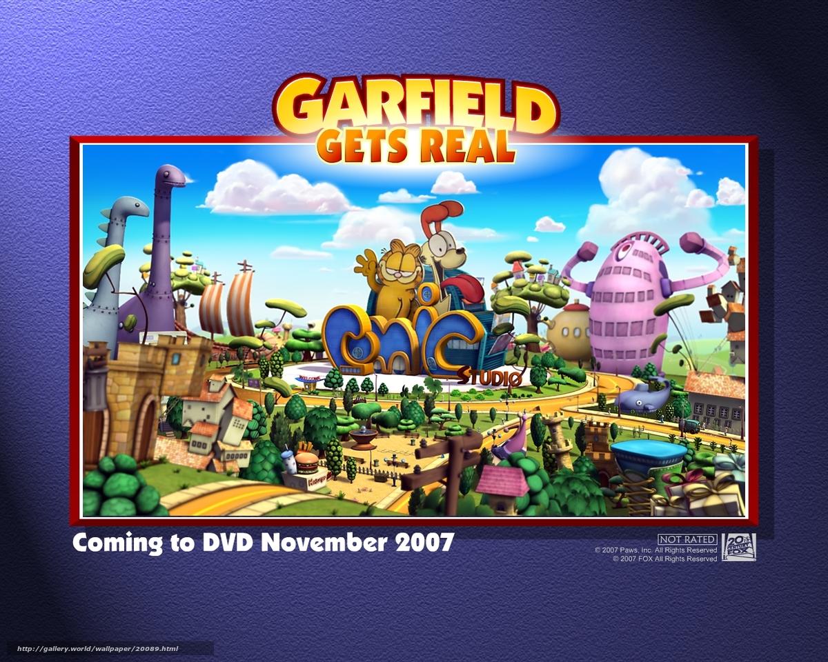 Download Wallpaper Nastoyashij Garfild Garfield Gets Real Film Movies Free Desktop Wallpaper In The Resolution 1280x1024 Picture 20089