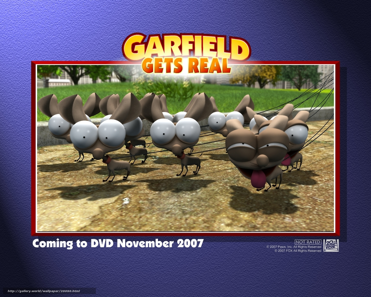 Download Wallpaper Nastoyashij Garfild Garfield Gets Real Film Movies Free Desktop Wallpaper In The Resolution 1280x1024 Picture 20090