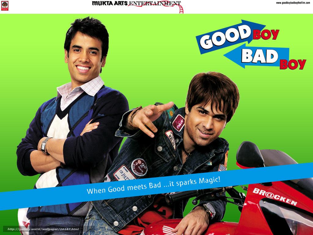 Download wallpaper Хороший парень,  плохой парень,  Good Boy,  Bad Boy free desktop wallpaper in the resolution 1024x768 — picture №20187