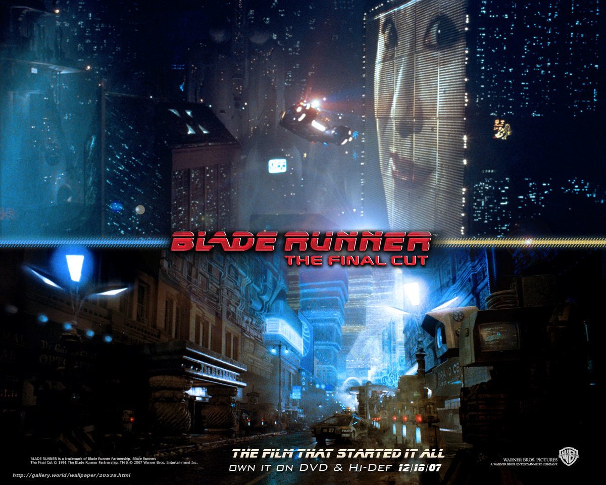 Download wallpaper Бегущий по лезвию,  Blade Runner,  film,  movies free desktop wallpaper in the resolution 1280x1024 — picture №20538