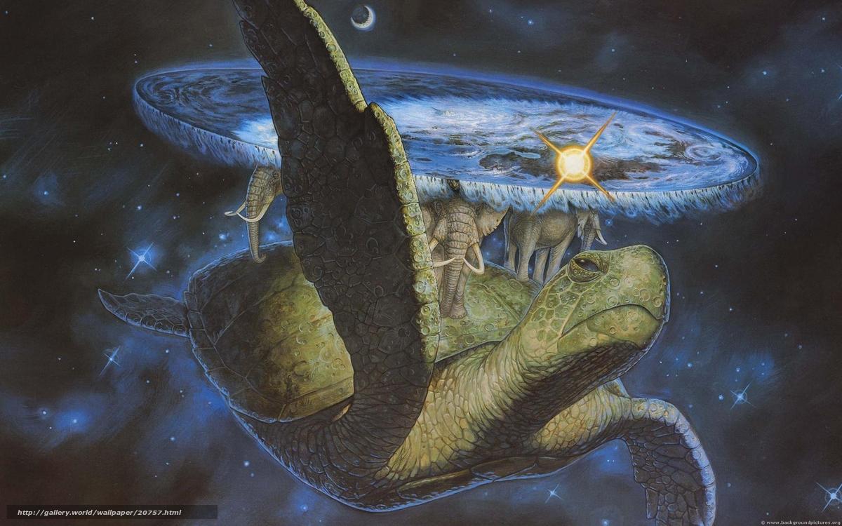 descarca imagini de fundal Lumea plat Terry Pratchett,  broasc estoas,  Elefanii,  spaiu Imagini de fundal gratuite pentru rezoluia desktop 2560x1600 — imagine №20757