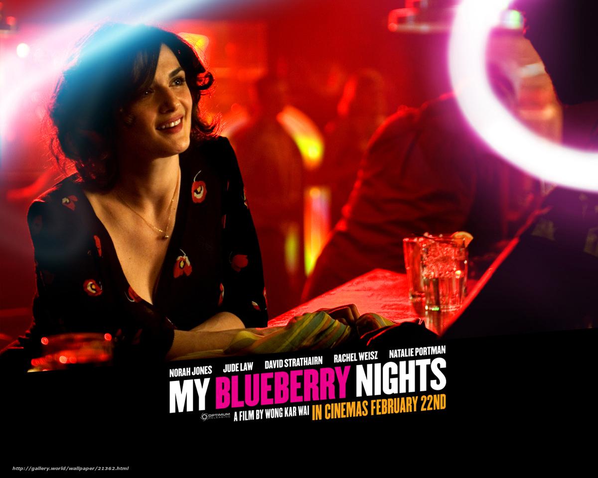 Download wallpaper Мои черничные ночи, My Blueberry Nights ...