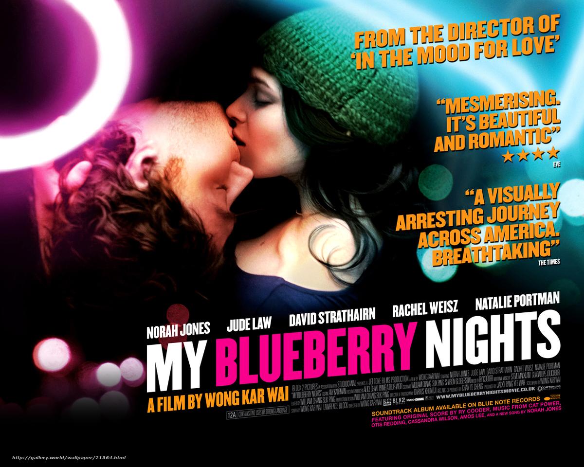 Скачать обои Мои черничные ночи,  My Blueberry Nights,  фильм,  кино бесплатно для рабочего стола в разрешении 1280x1024 — картинка №21364