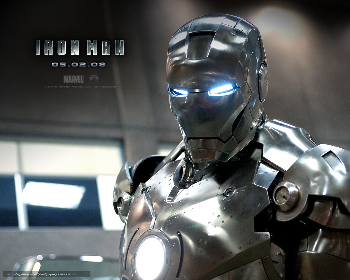 Download wallpaper Man of iron,  Iron Man,  film,  movies free desktop wallpaper in the resolution 1280x1024 — picture №21497