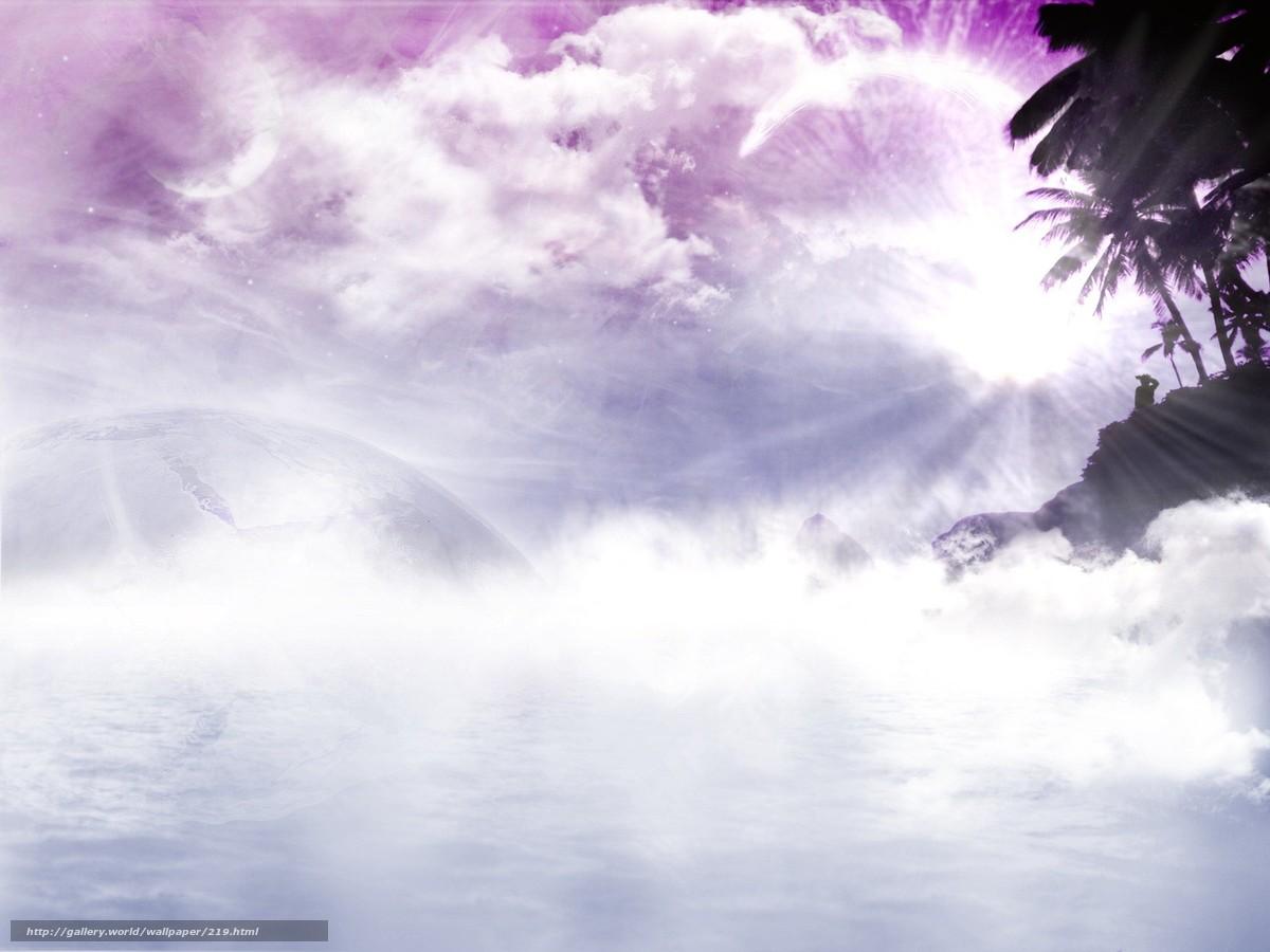 Скачать обои обалка,  солнце,  лучи,  розовая фигня бесплатно для рабочего стола в разрешении 1600x1200 — картинка №219