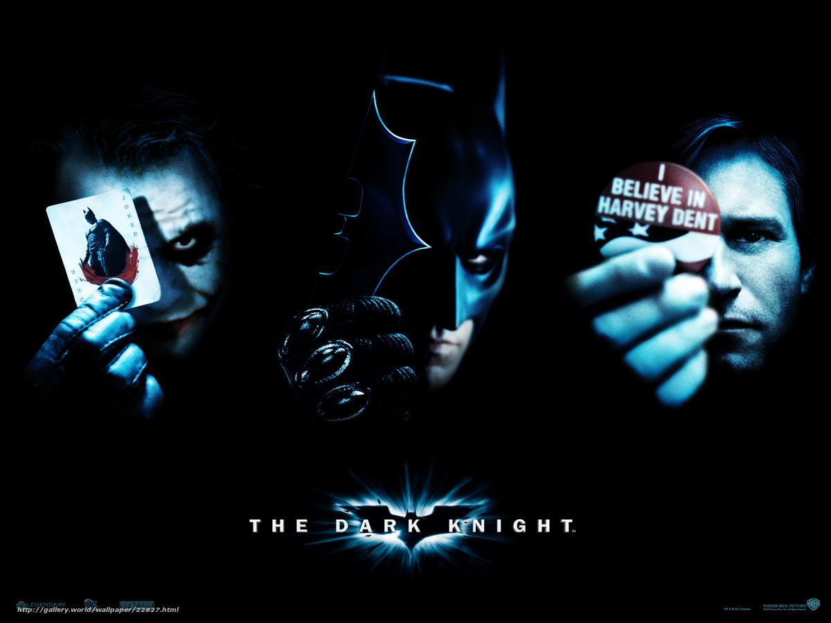 Download Hintergrund The Dark Knight,  The Dark Knight,  Film,  Film Freie desktop Tapeten in der Auflosung 1600x1200 — bild №22827