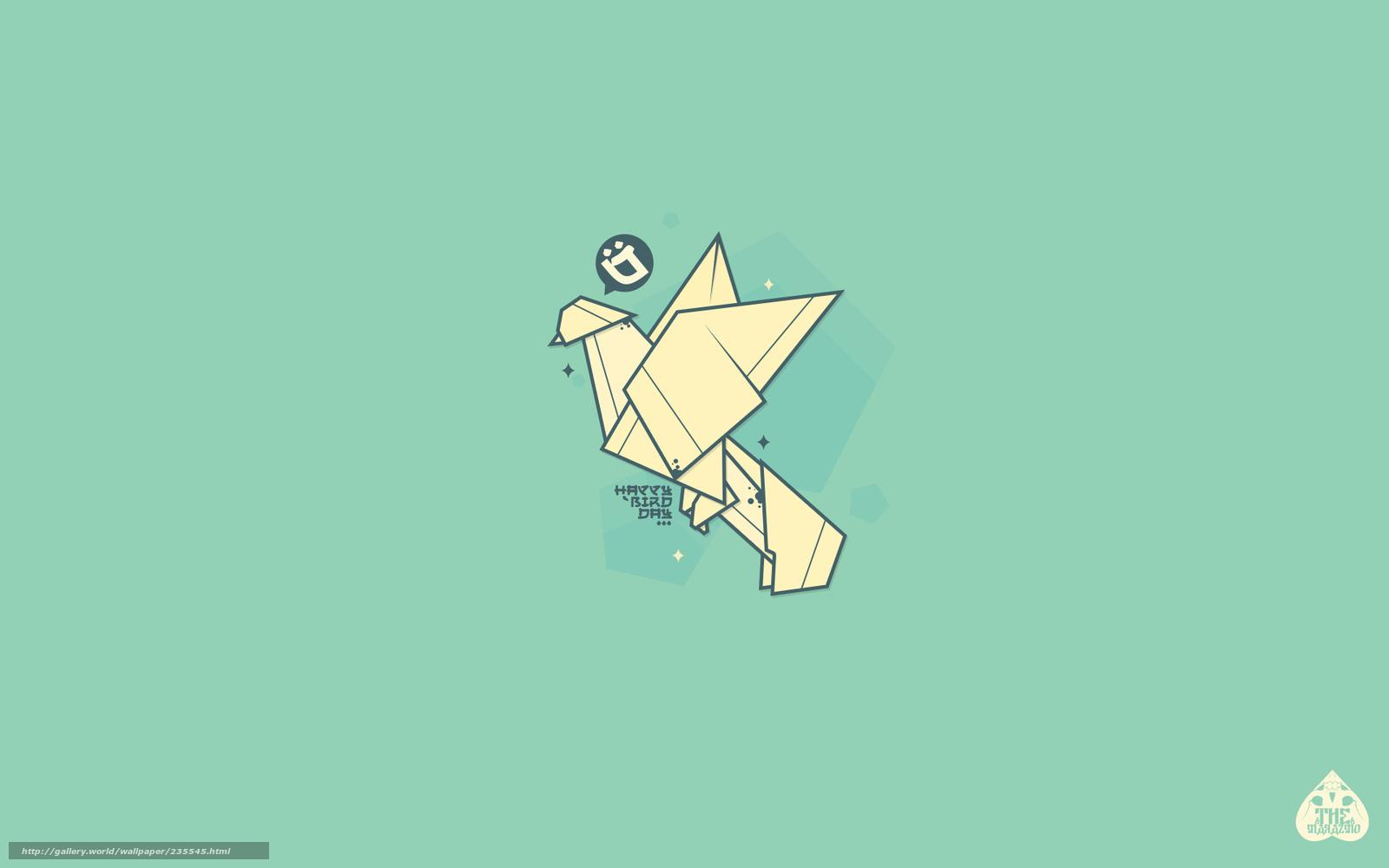 Download Origami Wallpaper Desktop Gif