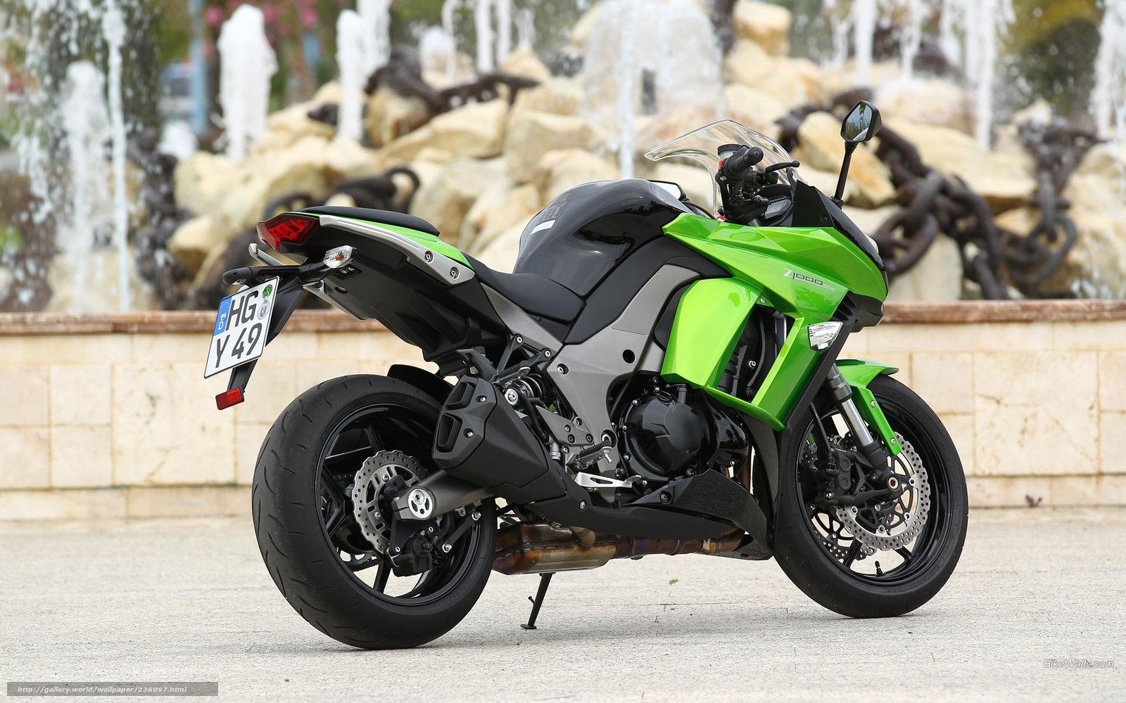 Download wallpaper Kawasaki, Ninja, Z1000SX, Z1000SX 2011 ...