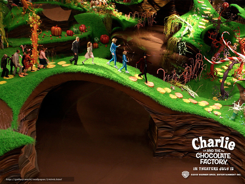 Charlie And The Chocolate Factory River
