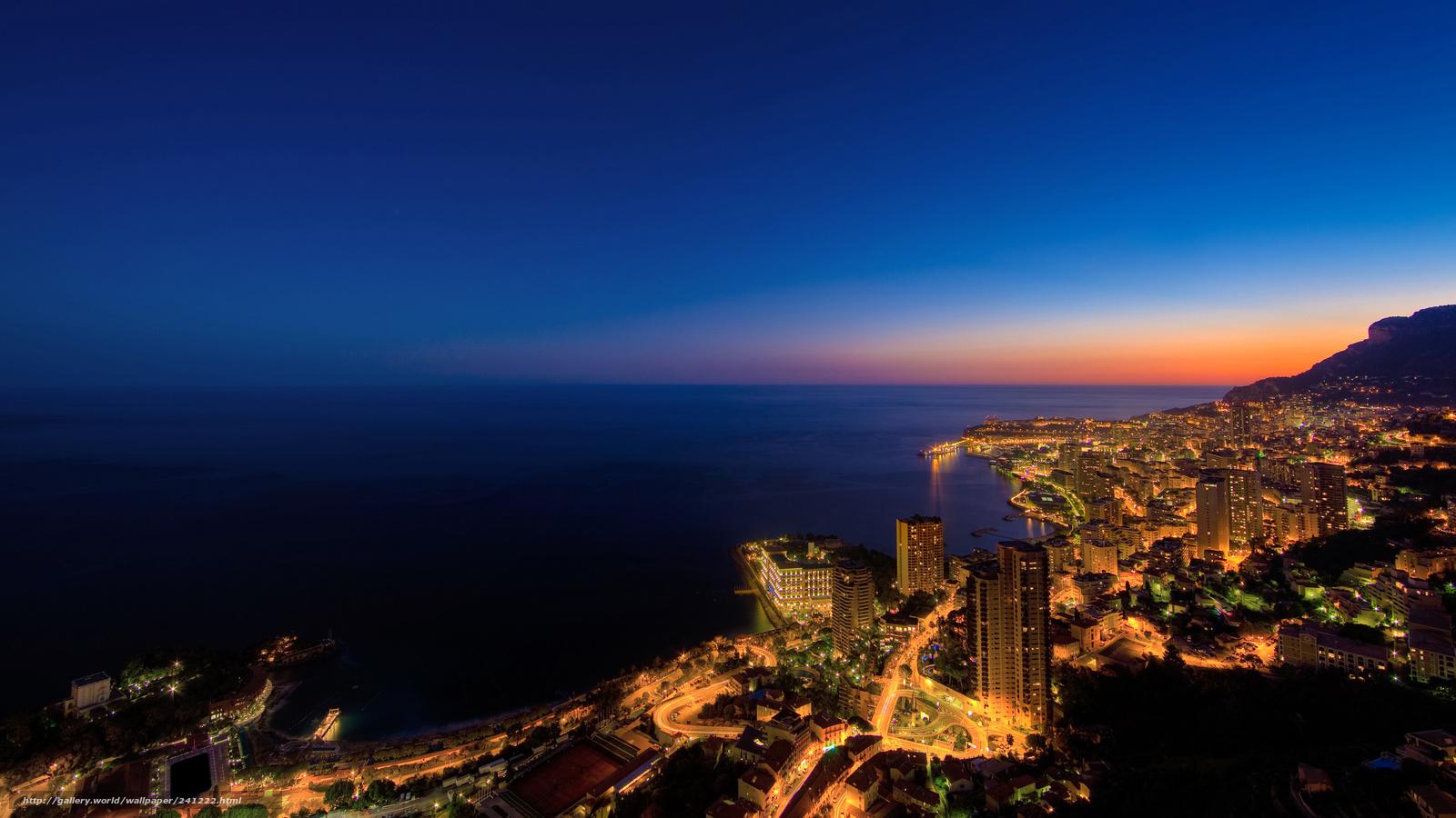 Descargar gratis Fondo de pantalla con las ciudades,  noche,  luces,  casa Fondos de escritorio en la resolucin 2560x1440 — imagen №241222