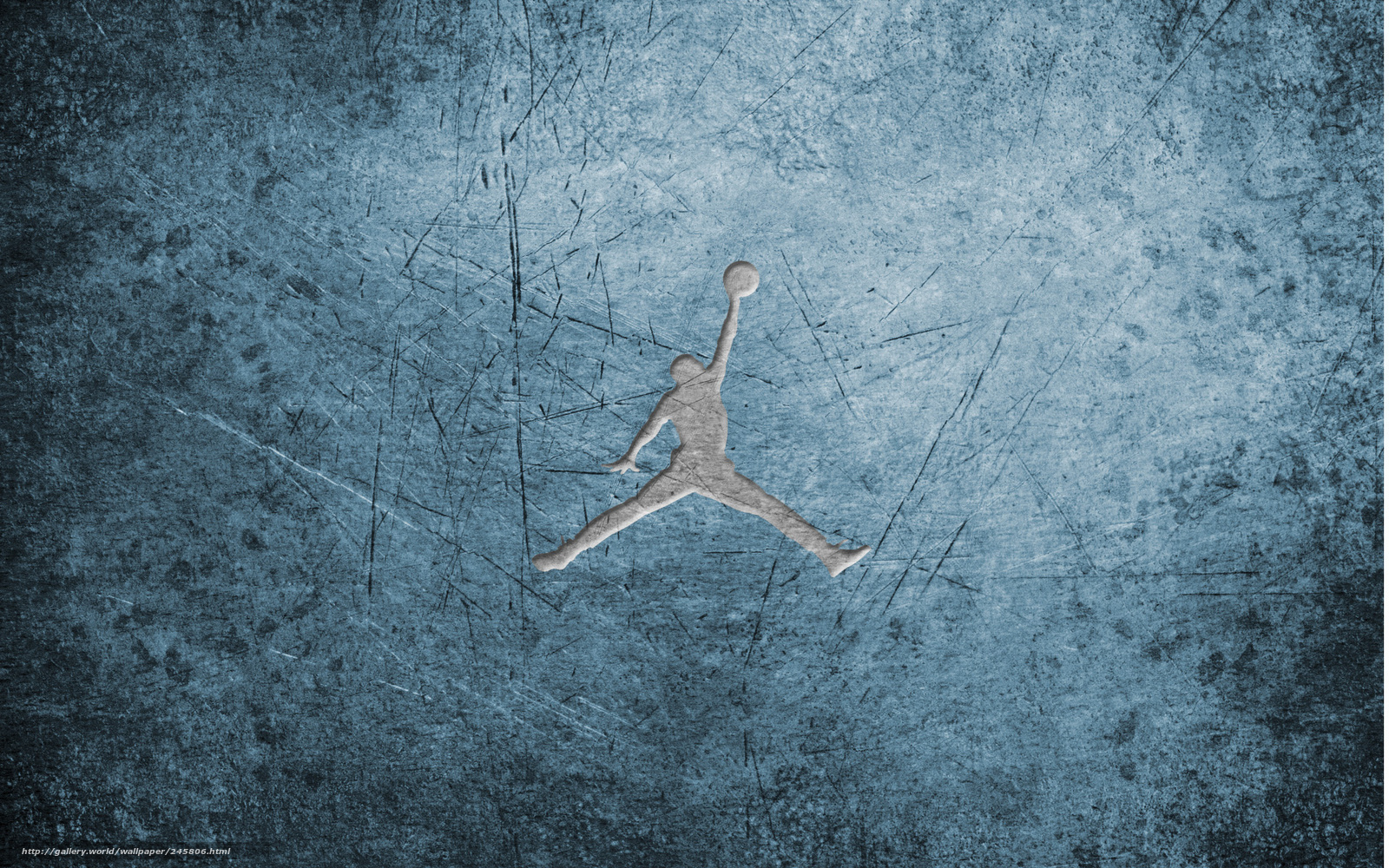 Download Hintergrund Michael Jordan Logo Basketball