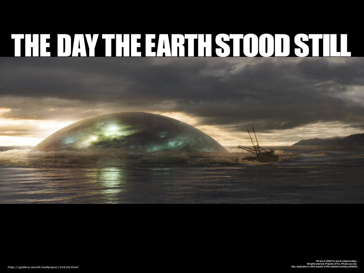 Скачать обои день, когда земля остановилась, the day the earth.