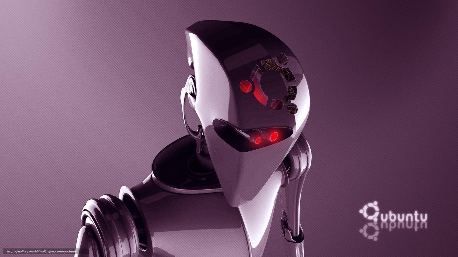Tlcharger fond d 39 ecran ordinateur linux ubuntu robot for Photo ecran ubuntu