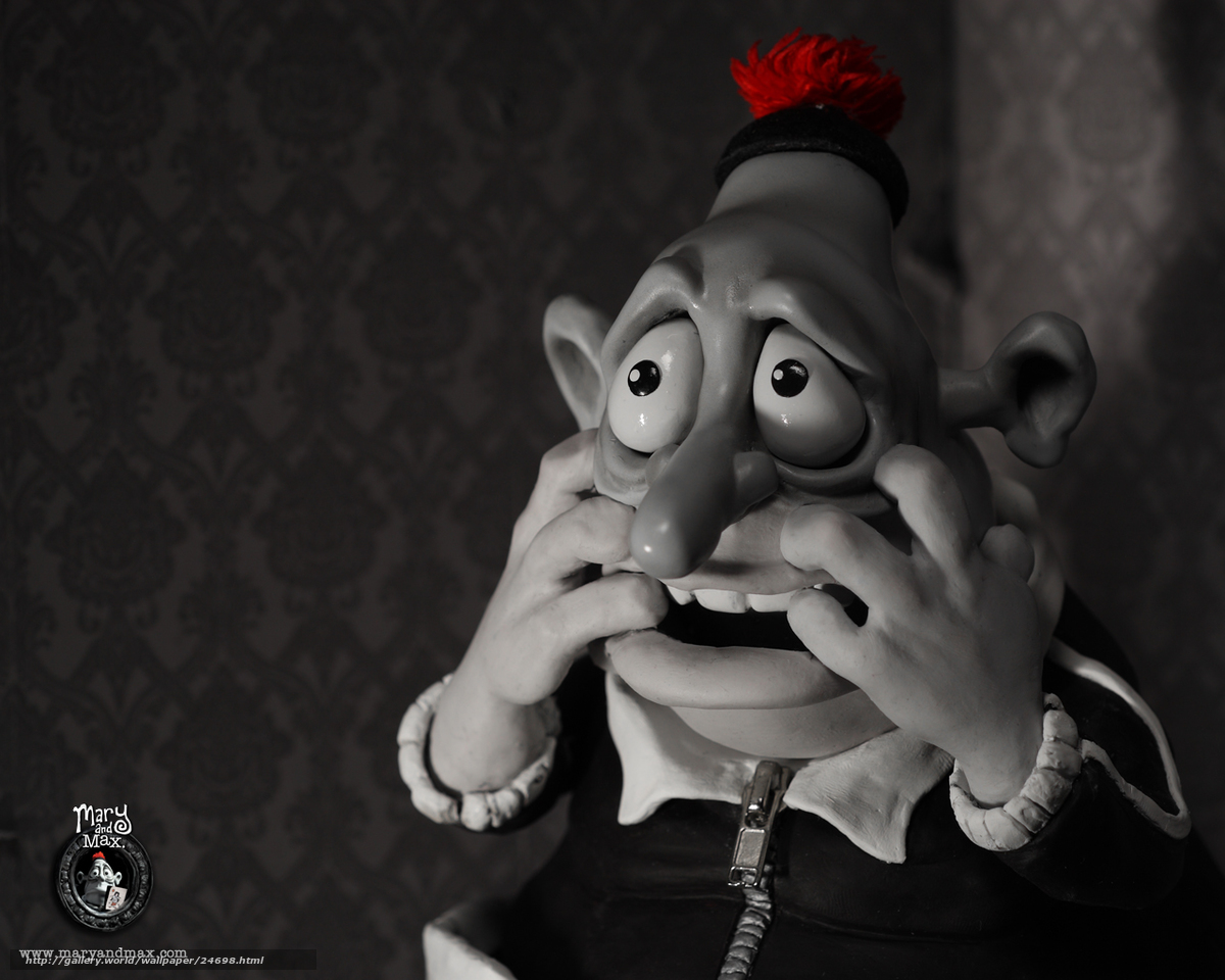 Download Wallpaper Meri I Maks Mary And Max Film Movies Free Desktop Wallpaper In The Resolution 1280x1024 Picture 24698