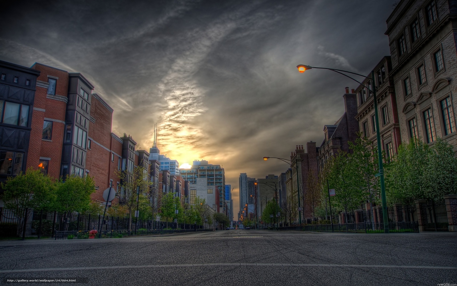 Descargar gratis calle,  Ciudad,  linterna Fondos de escritorio en la resolucin 2560x1600 — imagen №247504