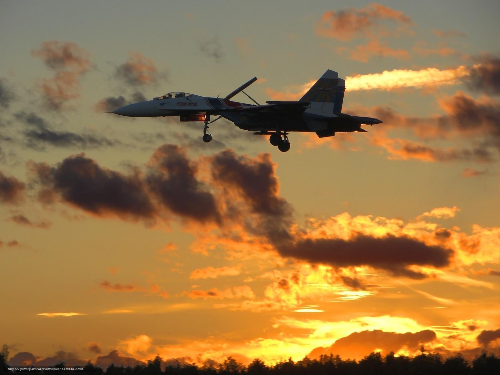 Скачать обои Су-27,   русские витязи,   Сухой бесплатно для рабочего стола в разрешении 1600x1200 — картинка №248340