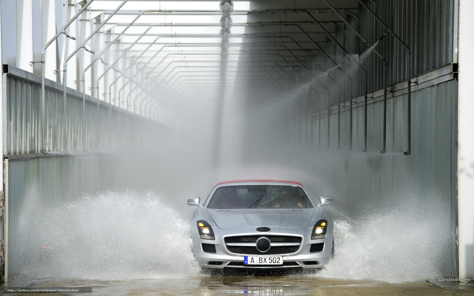 Download wallpaper Mercedes-Benz,  SLS,  Car,  machinery free desktop wallpaper in the resolution 2560x1600 — picture №251546