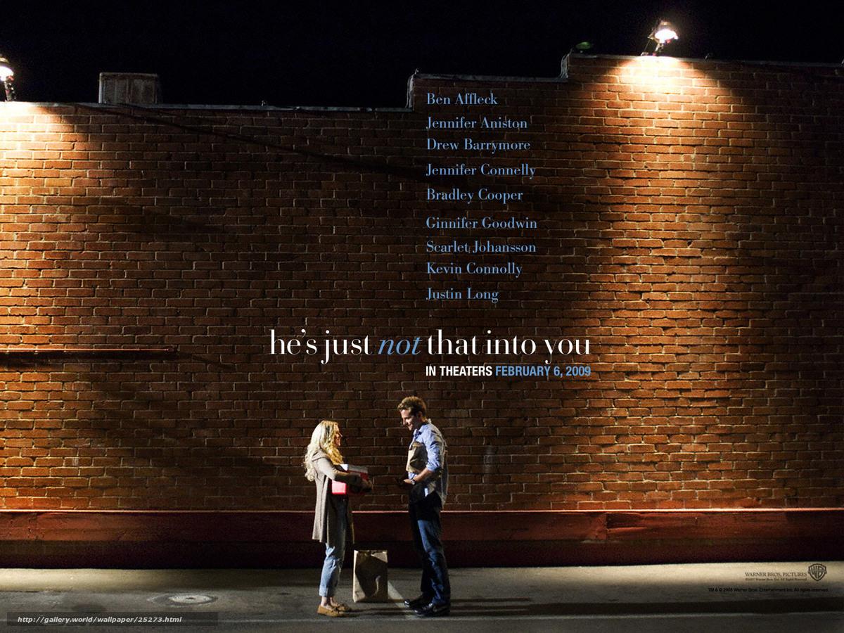 Скачать обои Обещать - не значит жениться,  He's Just Not That Into You,  фильм,  кино бесплатно для рабочего стола в разрешении 1600x1200 — картинка №25273