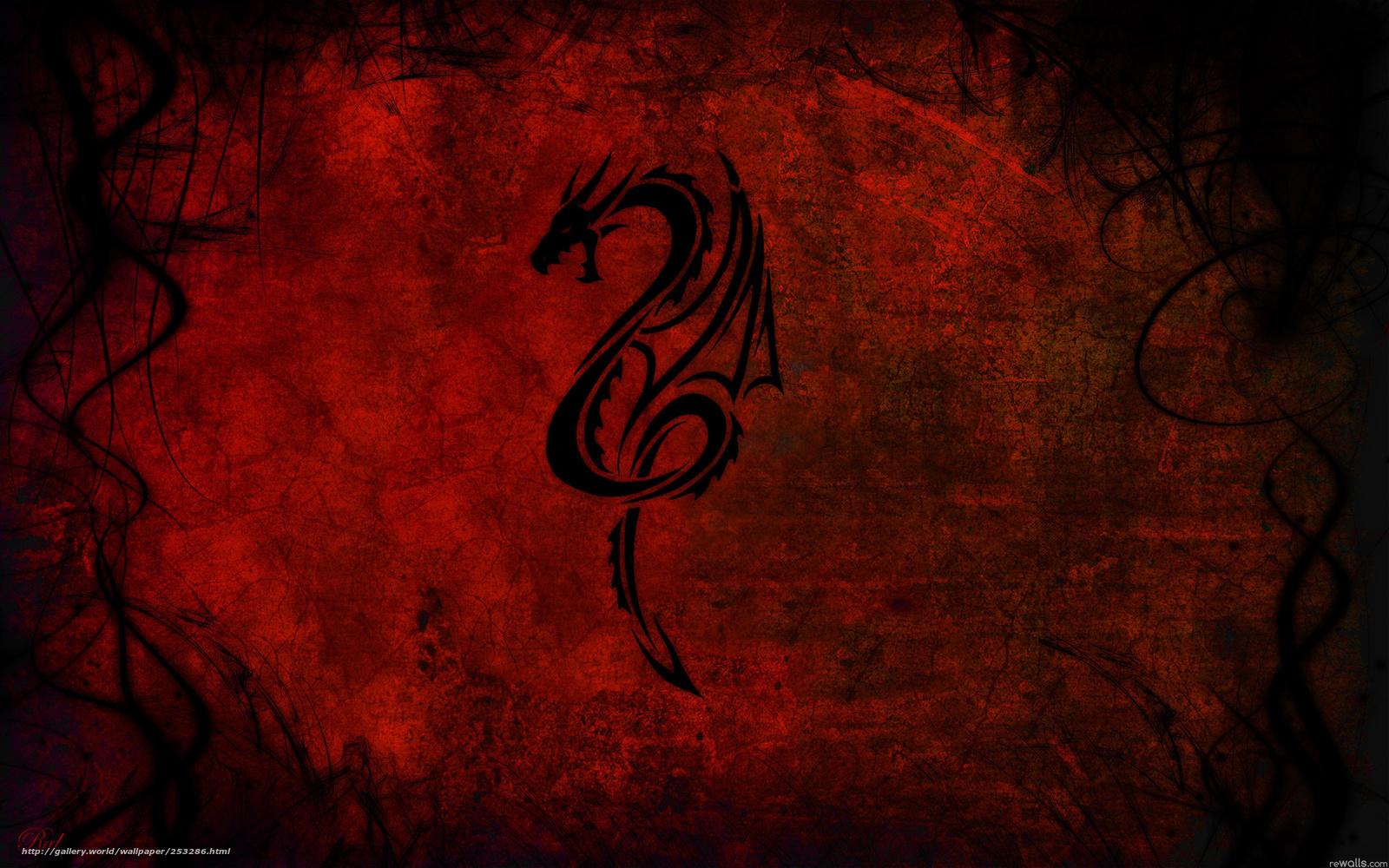 Tlcharger Fond D Ecran Abstraction Couleur Noir Rouge