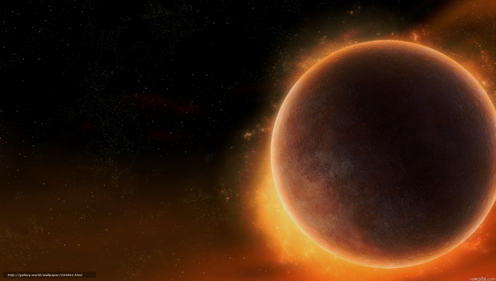 scaricare gli sfondi pianeta,  spazio,  Stella Sfondi gratis per la risoluzione del desktop 2048x1160 — immagine №254861