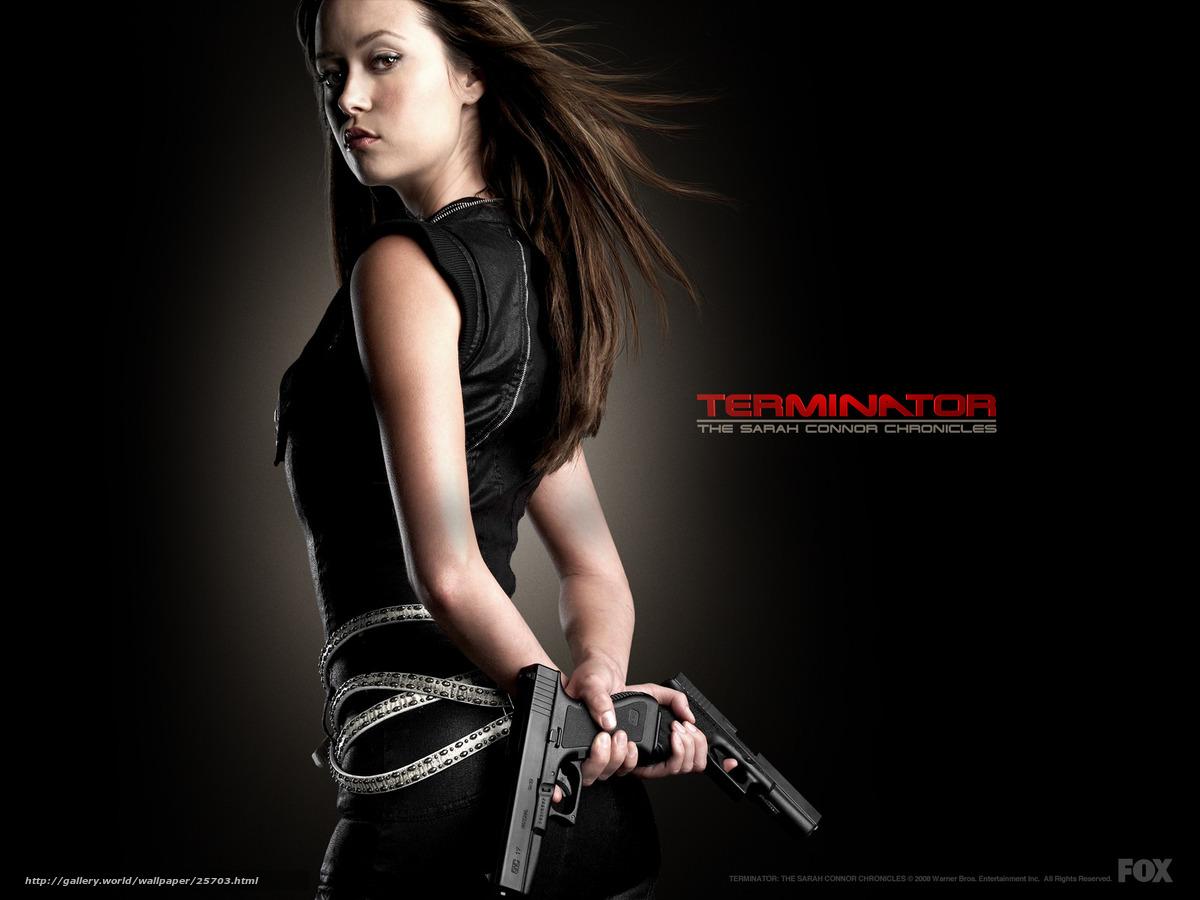 scaricare gli sfondi Terminator: The Sarah Connor Chronicles,  Terminator: The Sarah Connor Chronicles,  film,  film Sfondi gratis per la risoluzione del desktop 1600x1200 — immagine №25703