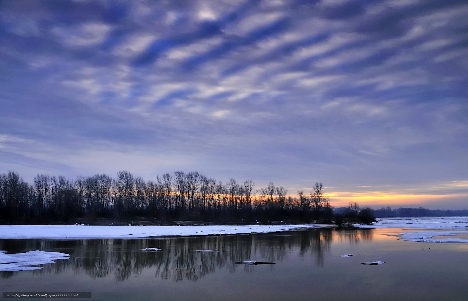 壁紙をダウンロード 湖,  夜,  自然 デスクトップの解像度のための無料壁紙 1680x1080 — 絵 №258220