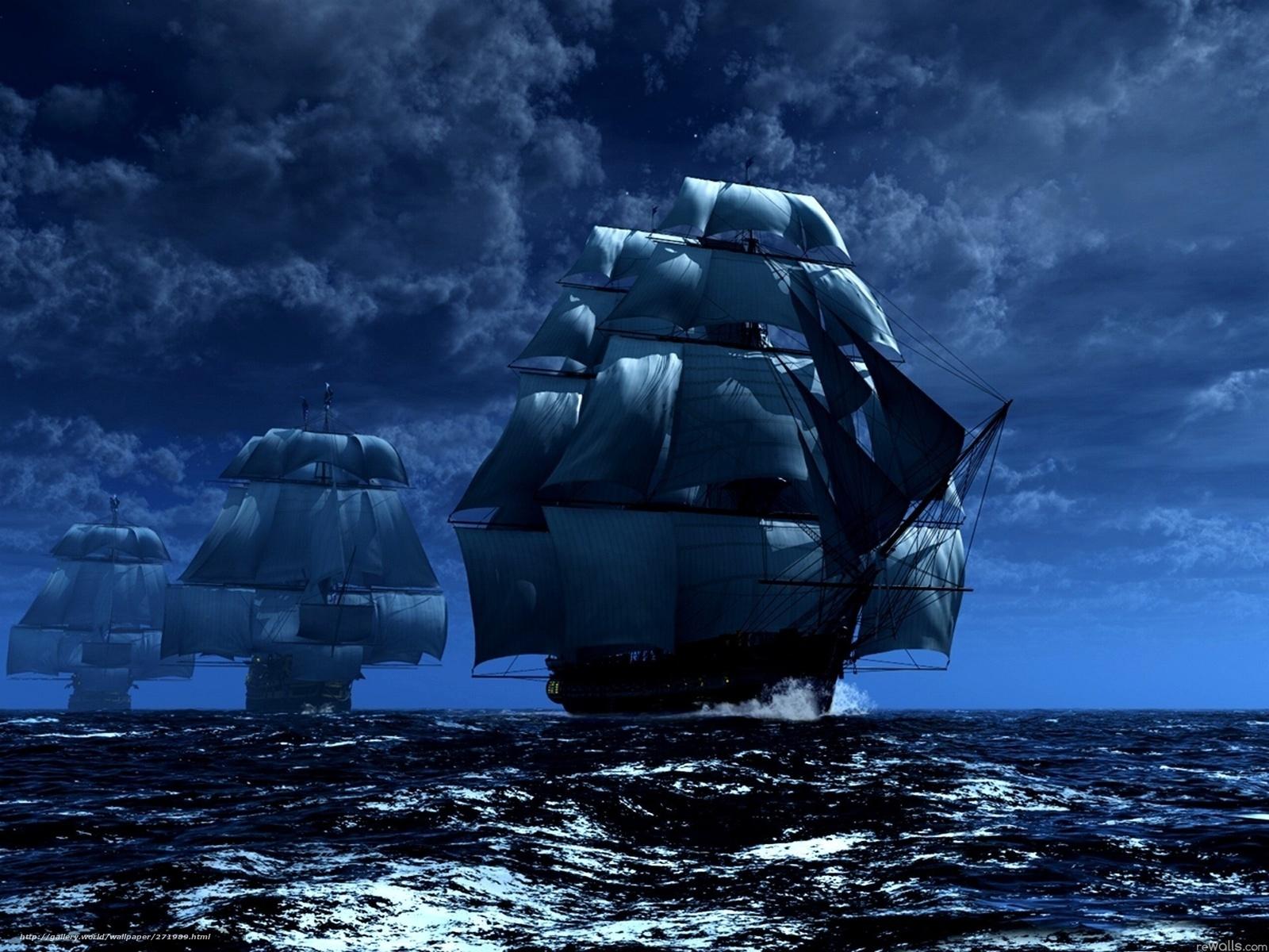 Segelschiffe auf dem meer  Download Hintergrund Schiffe, Meer, Himmel, segeln Freie desktop ...