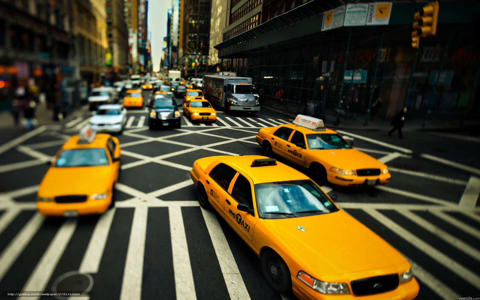 Tlcharger Fond D Ecran New York Taxi Route Fonds D Ecran