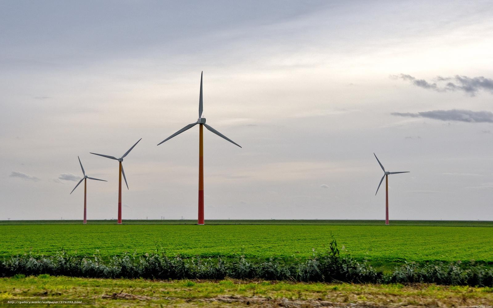 Обои ветряк. Разное foto 16