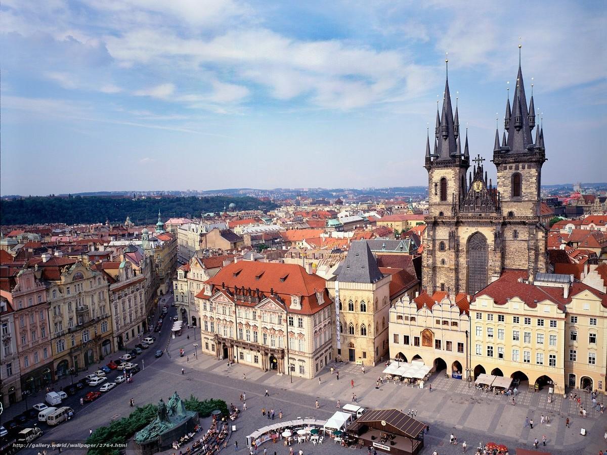 Download wallpaper Czech Republic,  Prague,  area free desktop wallpaper in the resolution 1600x1200 — picture №2764