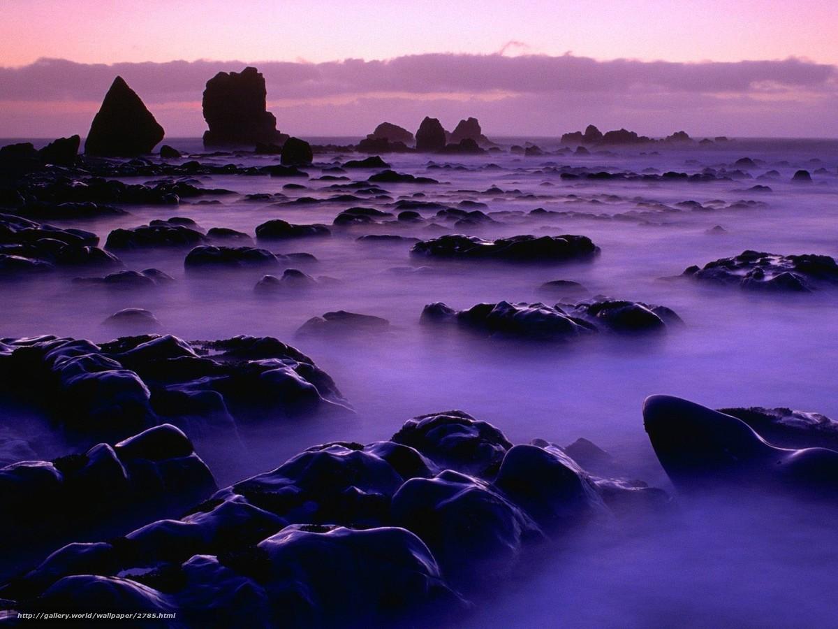 Descargar gratis piedras,  rocas,  agua,  niebla Fondos de escritorio en la resolucin 1600x1200 — imagen №2785