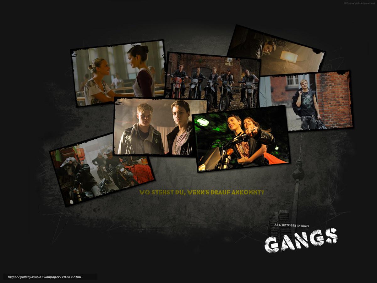 Скачать обои Банда,  Gangs,  фильм,  кино бесплатно для рабочего стола в разрешении 1600x1200 — картинка №28107