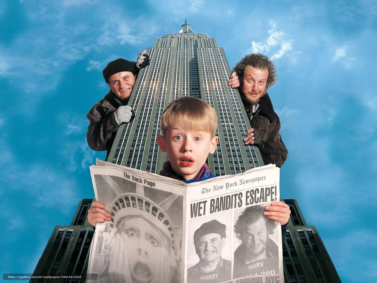 Download wallpaper Один дома 2: Затерянный в Нью-Йорке ...