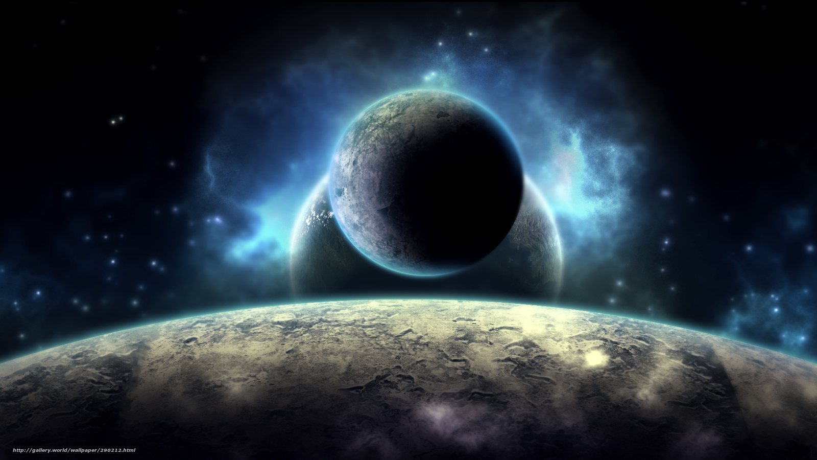 Scaricare gli sfondi universo pianeta luce sfondi gratis for Sfondi desktop universo