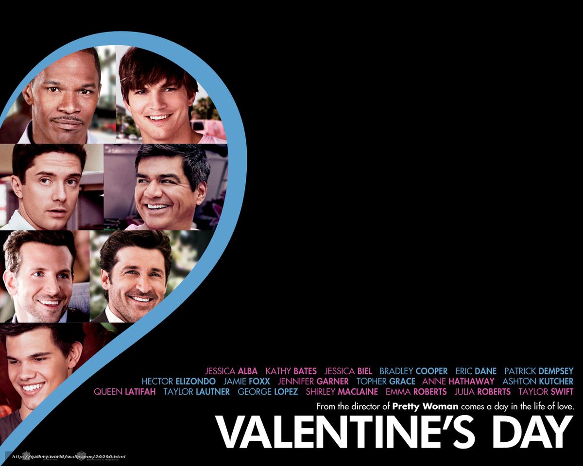 Скачать обои День Святого Валентина,  Valentine's Day,  фильм,  кино бесплатно для рабочего стола в разрешении 1280x1024 — картинка №29290