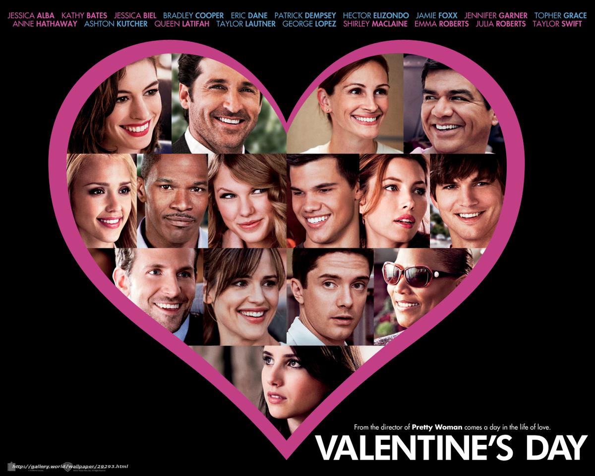 Скачать обои День Святого Валентина,  Valentine's Day,  фильм,  кино бесплатно для рабочего стола в разрешении 1280x1024 — картинка №29293