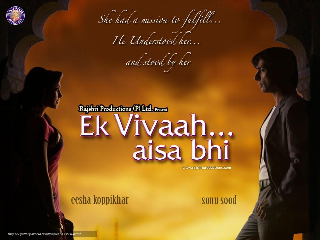 Tlcharger Fond d'ecran De l'engagement au mariage,  Ek Vivaah ... Aisa Bhi,  film,  film Fonds d'ecran gratuits pour votre rsolution du bureau 1024x768 — image №29716