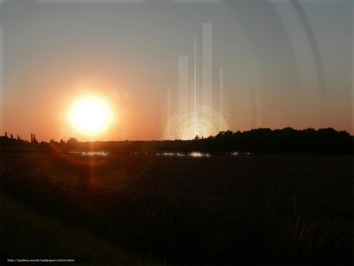 Tlcharger fond d 39 ecran soleil traitement coucher du for Traitement vers du sol