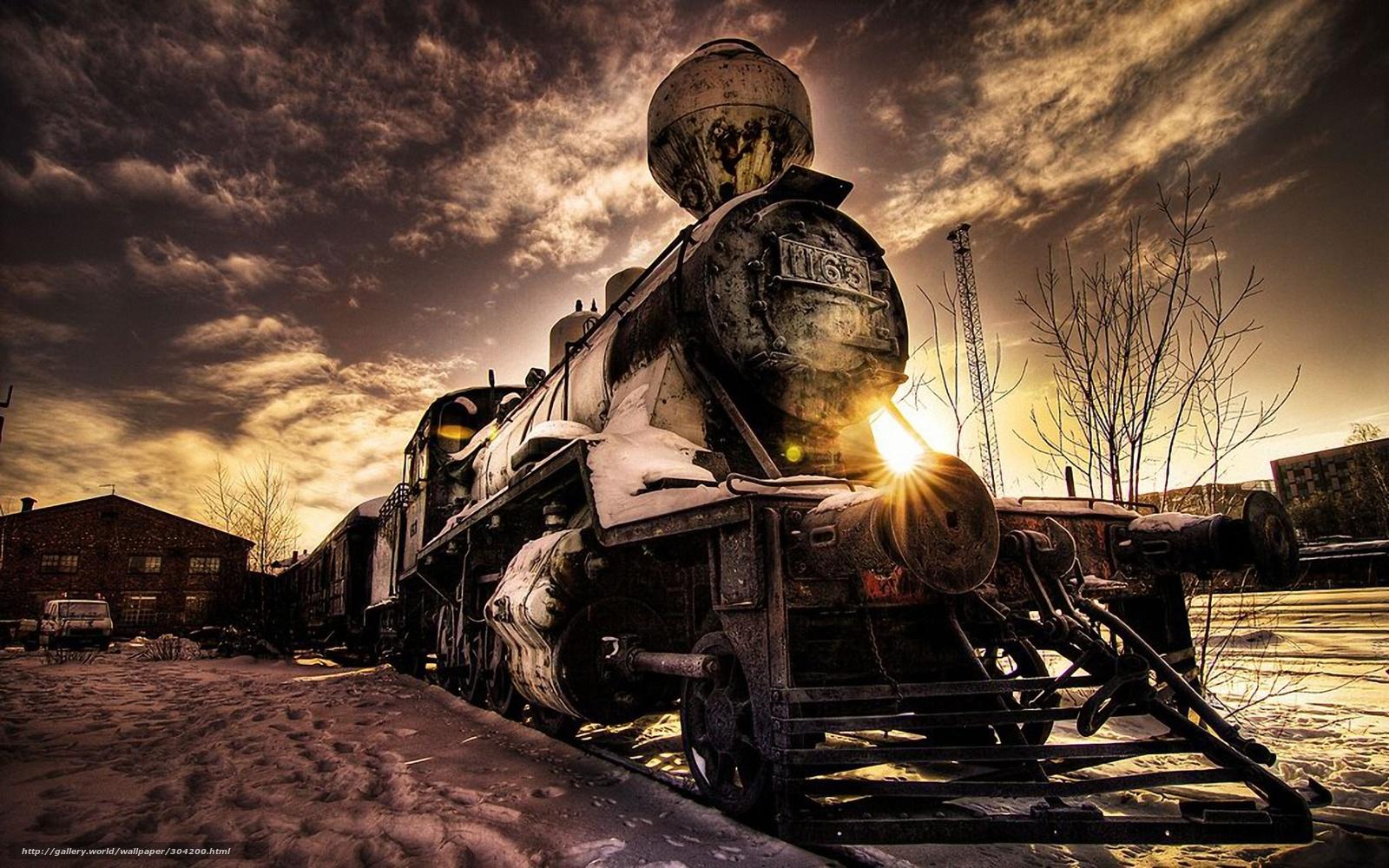 Baixar Wallpaper esquecido,  velho,  trem,  carros Papis de parede grtis na resoluo 1920x1200 — quadro №304200