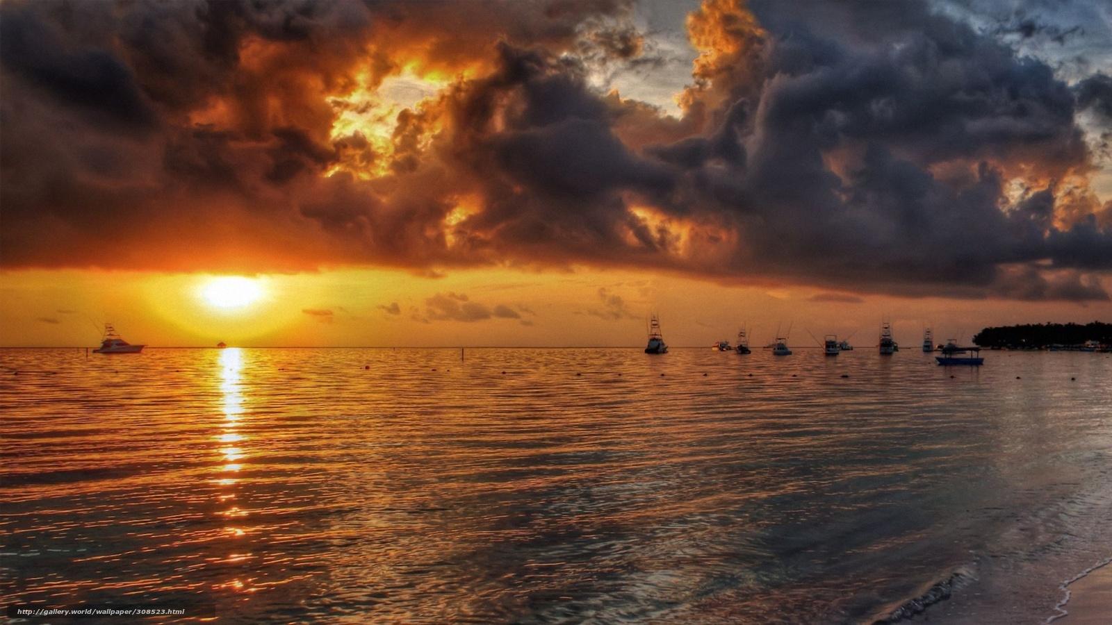 Descargar gratis barcos contra el fondo puesta del sol for Fondo del sol