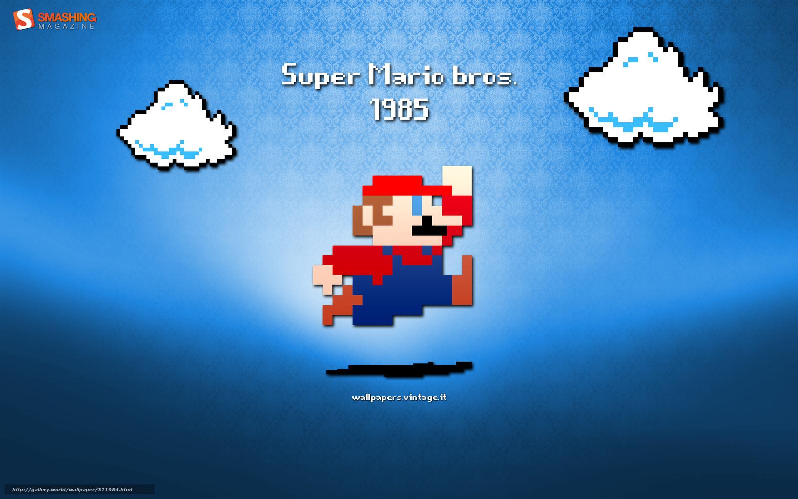 Download Hintergrund Mario, Spiel, Prfix, Super Mario Freie ...