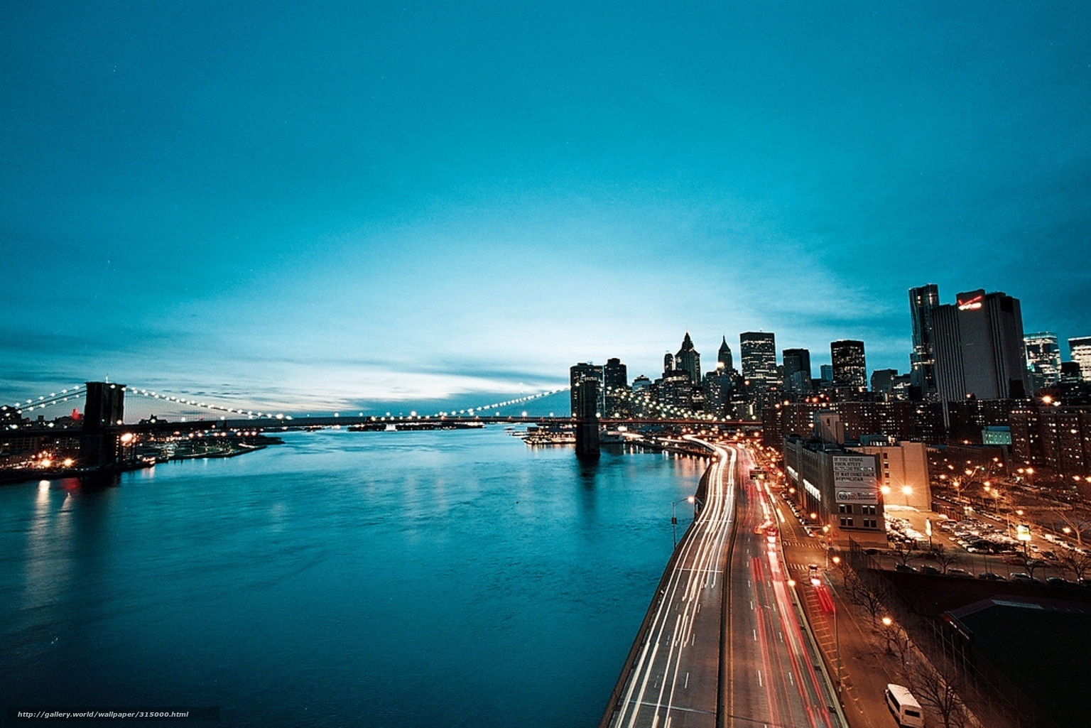 Download Wallpaper City, Coastal, Night, Lights Free Desktop Wallpaper In  The Resolution 1536x1025 U2014 Picture №315000