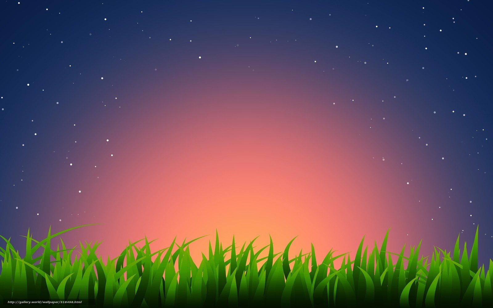 download wallpaper grass star sunset free desktop wallpaper in the resolution 2560x1600 picture 318498 gde fon com