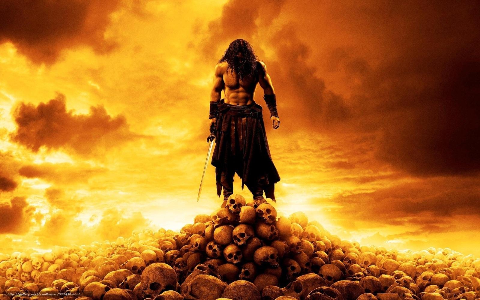 scaricare gli sfondi Conan il Barbaro,  Cranio Sfondi gratis per la risoluzione del desktop 1920x1200 — immagine №322950