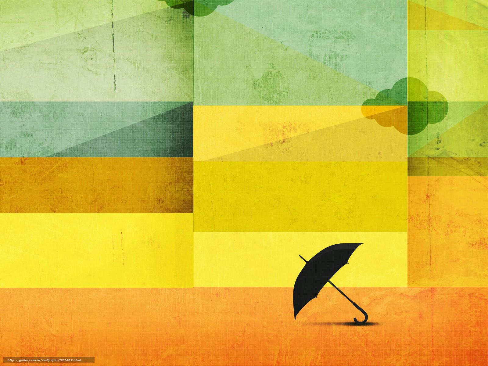 Скачать обои зонтик,   квадраты,   цвет бесплатно для рабочего стола в разрешении 1600x1200 — картинка №327607
